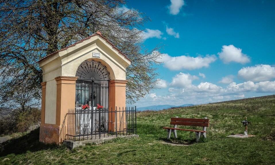 dotace kaple kříže hřbitovy